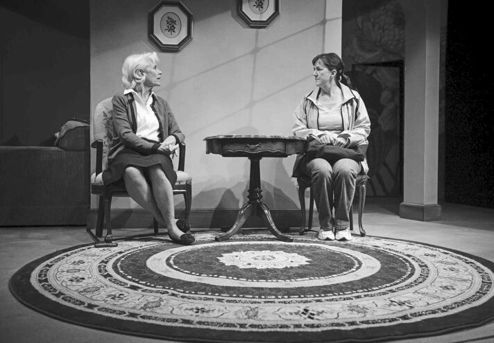 Melissa Tait / Winnipeg Free PressBarbara Gordon (left)  as Mrs. Branch and Ellen Peterson as housekeeper Birdy in the small-town drama Small Things.