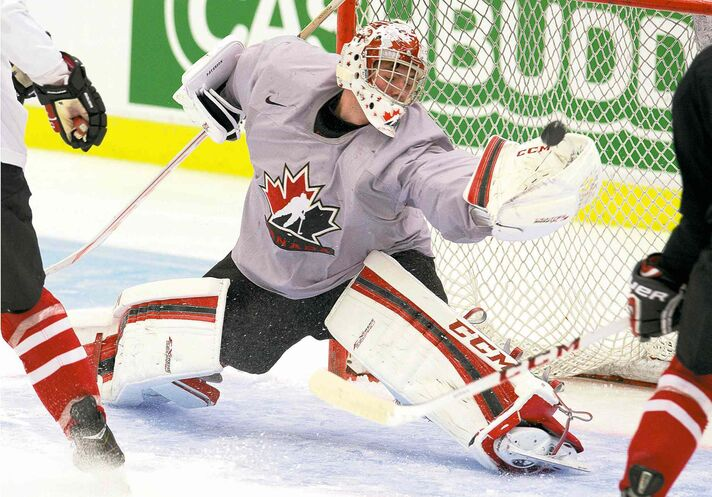 Jake Paterson gets the call between the pipes today as Team Canada begins its quest for gold at the world juniors in Sweden. Canada wants to end its four-year run without gold.