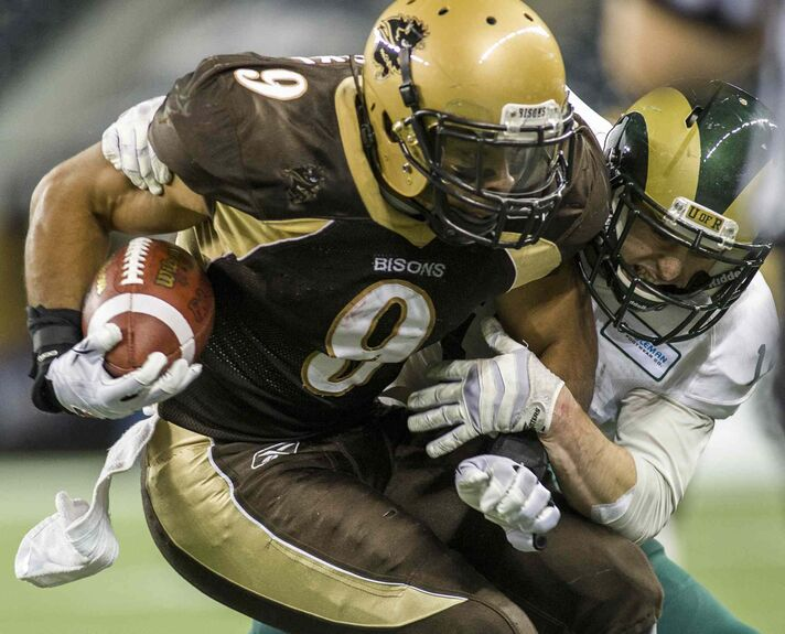 Former Bisons slotback Nic Demski was the first player in school history to earn All-Canadian honours four times.