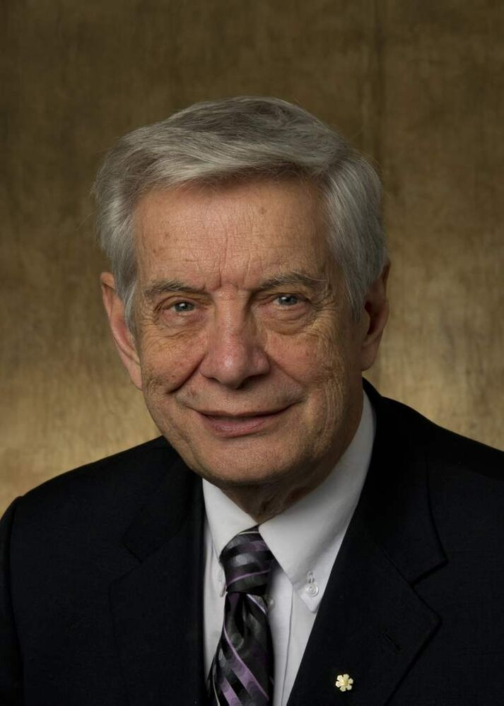 Dr. Allan Ronald is one of Canada's foremost experts in infectious diseases. He is internationally respected for his pioneering work with HIV-AIDS in Africa. (Submitted photo)
