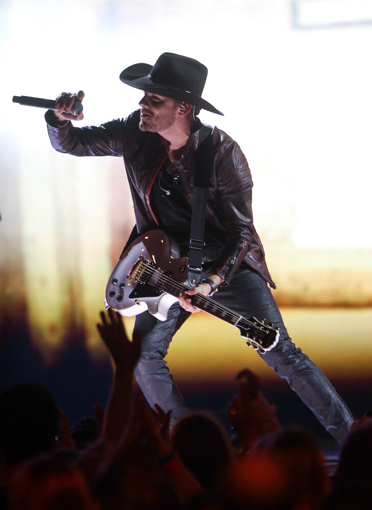 Brett Kissel performs at 2014 Juno Awards.
