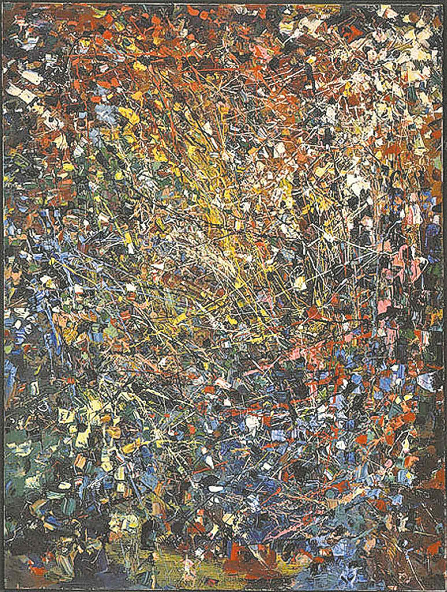Jean-Paul Riopelle's Vallée.