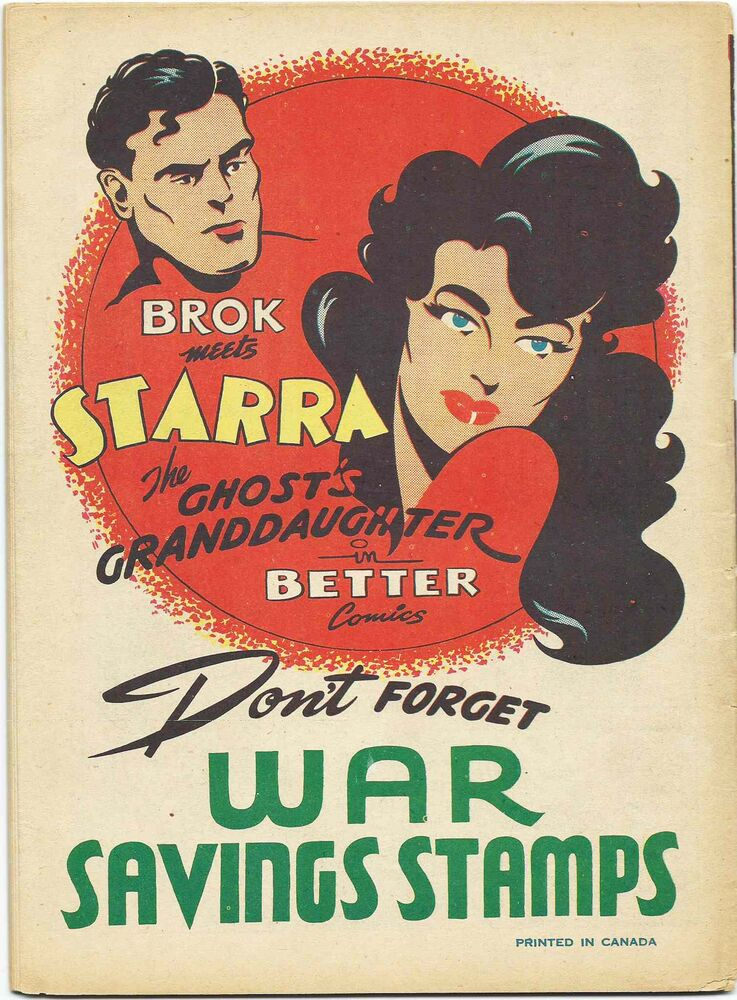 A Brok Windsor promotional ad for war savings stamps.