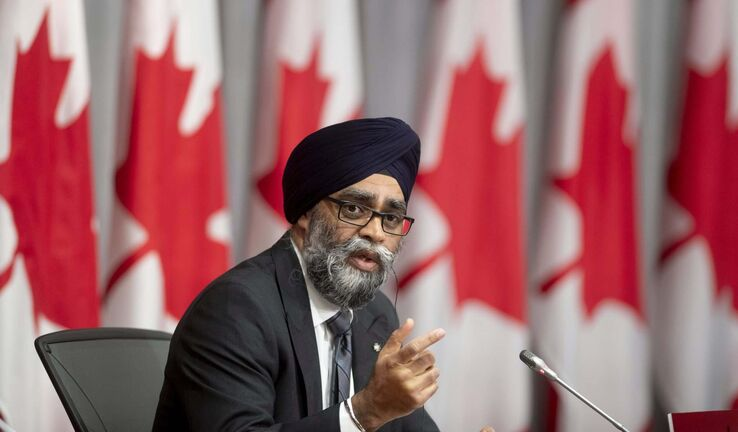 Minister of National Defence Harjit Sajjan has ordered a study to chart a path for the Armed Forces to deal with sexual misconduct within its ranks. (Adrian Wyld / The Canadian Press files)