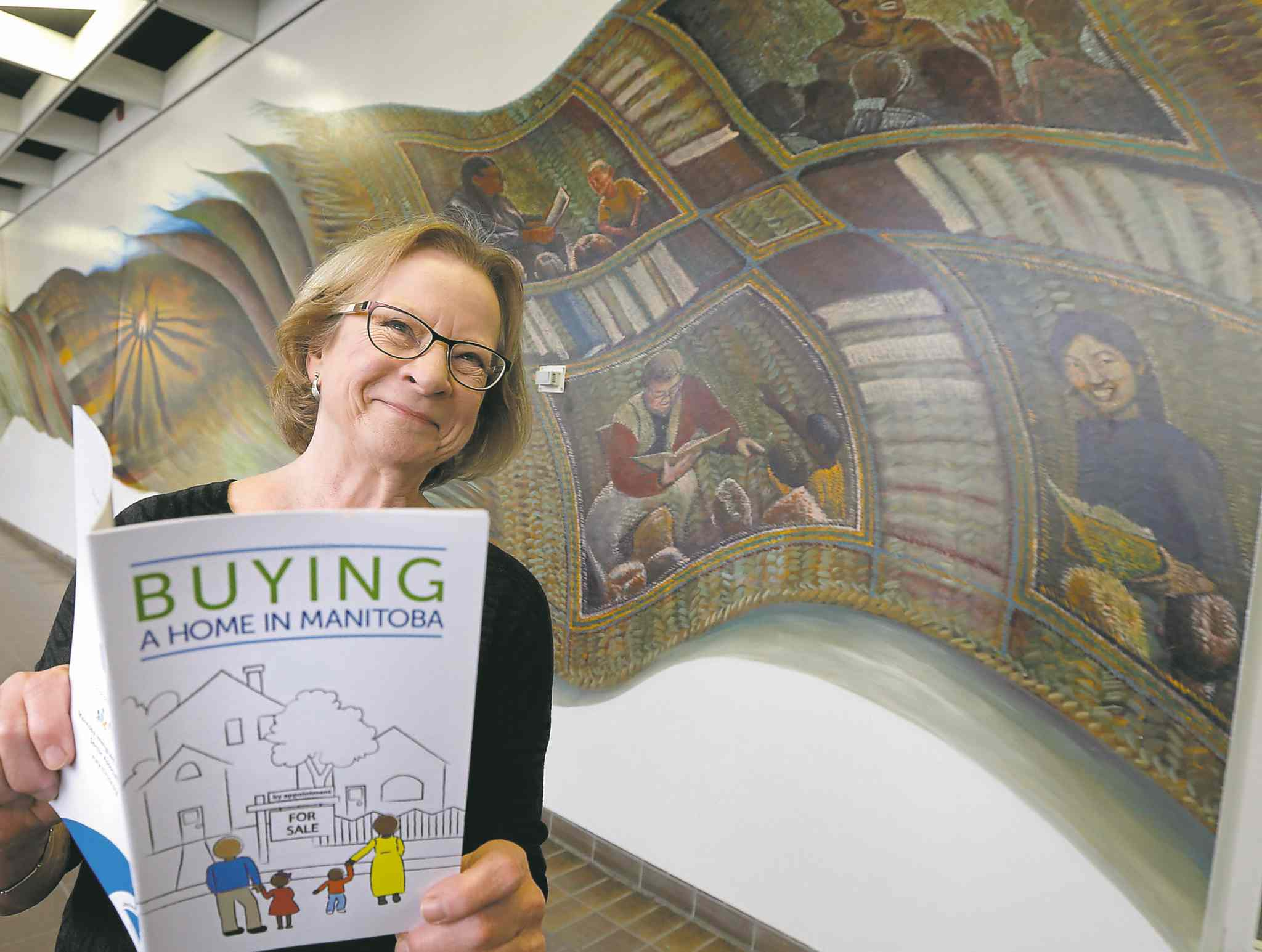 Author Katherine Pavlik said Buying a Home in Manitoba had to be attractive in order to reach its target audience.