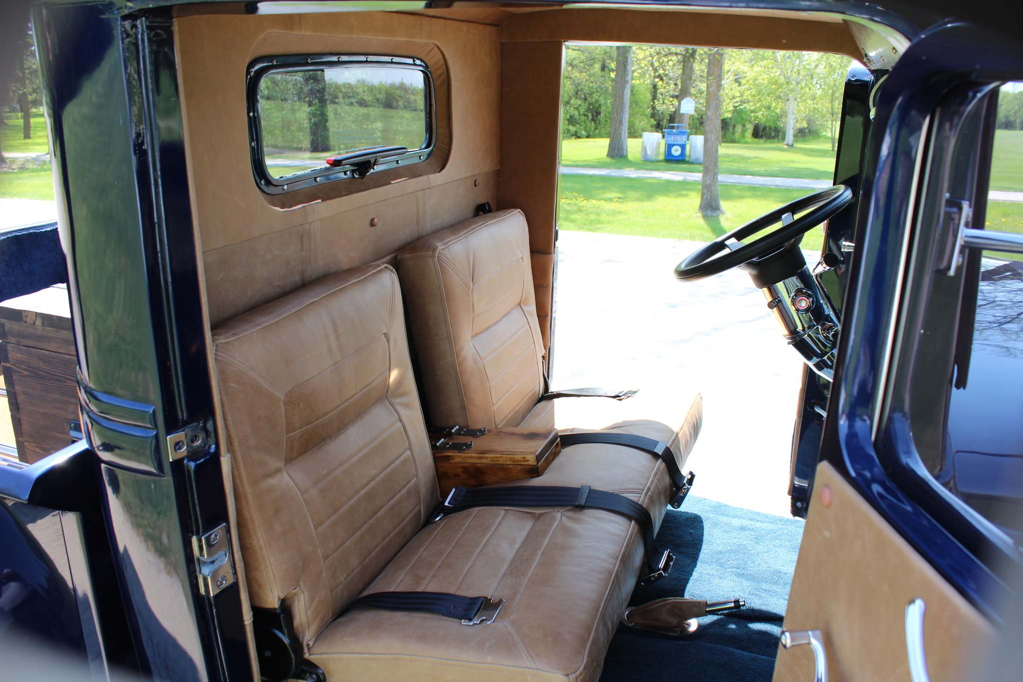The interior is comfortable and classy.