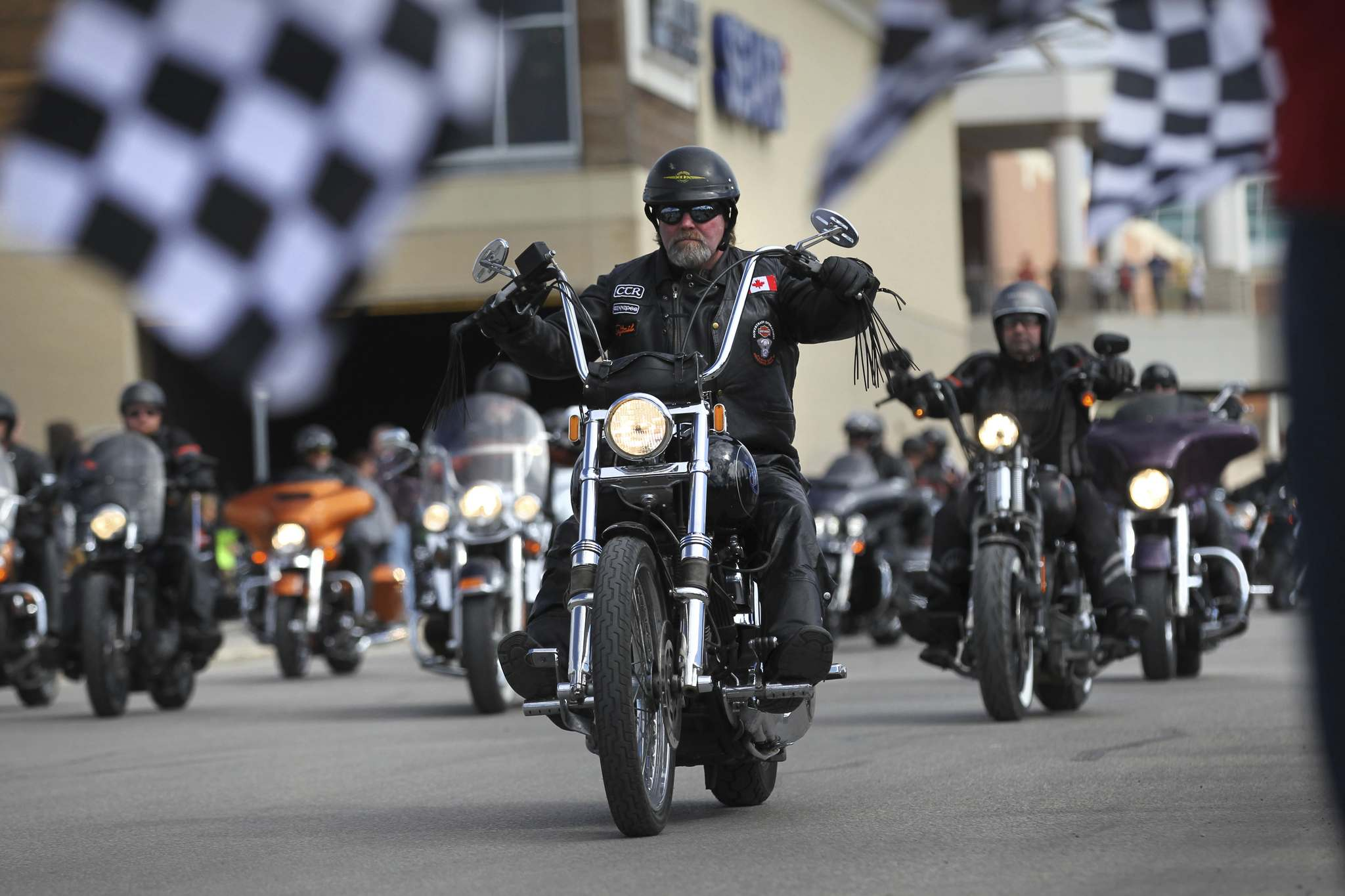 Ruth Bonneville / Winnipeg Free PressLast year more than 1,600 motorcyclists participated in the annual Ride for Dad to raise funds for prostate cancer. The 2016 Ride for Dad takes place tomorrow.