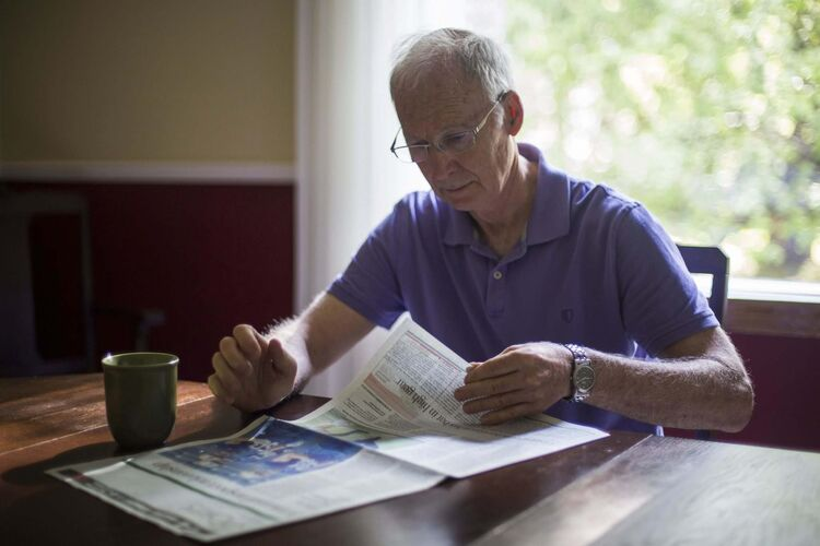 MIKE DEAL / WINNIPEG FREE PRESSBruce Christie, a retired math teacher who has a somewhat unusual hobby: he memorizes birthdays - everybody from Picasso to Gretzky to Paul (his plumber). </p>