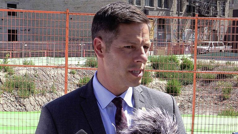 Winnipeg Mayor Brian Bowman