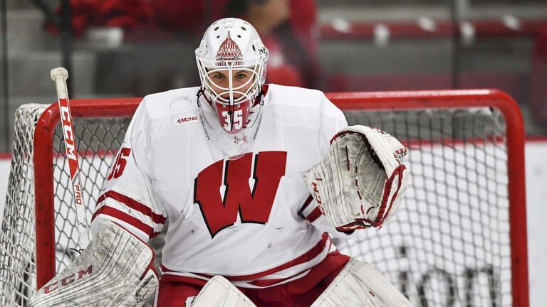 David Stluka / University of Wisconsin</p><p>kristen campbell - University of Wisconsin womens hockey</p>