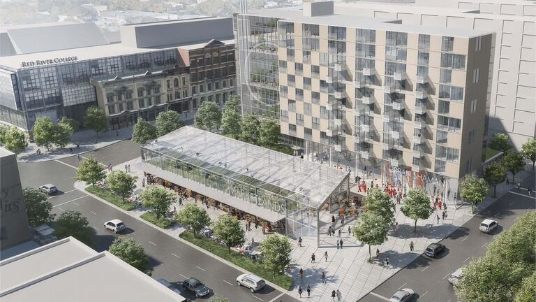 Daoust Lestage Architects</p><p>The Market Lands development will be built on the former site of the Public Safety Building.</p>