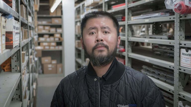 Howard Wong, a parts specialist at Birchwood Ford, was known as @howwon on Twitter and the creator of #pizzafriday. (Supplied)