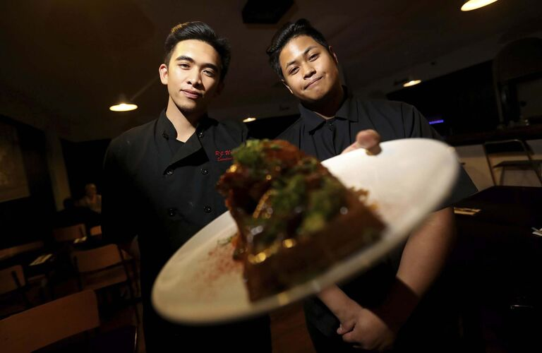 TREVOR HAGAN / WINNIPEG FREE PRESS</p><p>Creme de L'Essence owners R.J. Urbano (left) and Ryan San Diego.</p>