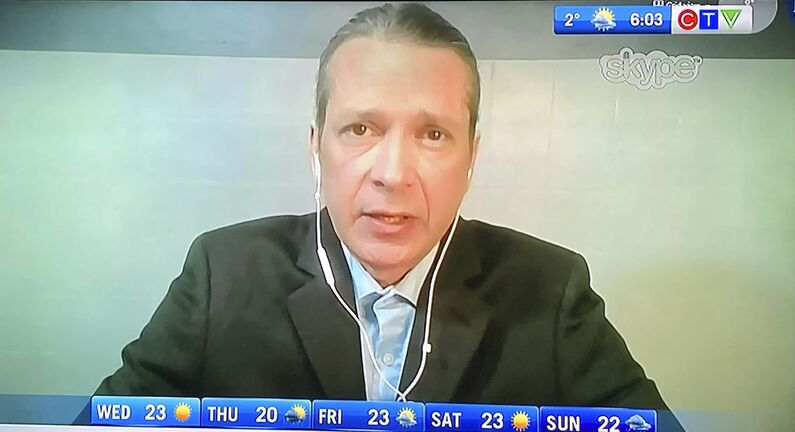 CTV Morning Live Winnipeg host Michael Hutchinson apologizes.</p>