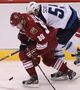 SLIDESHOW: Jets at Coyotes, Oct. 15, 2011