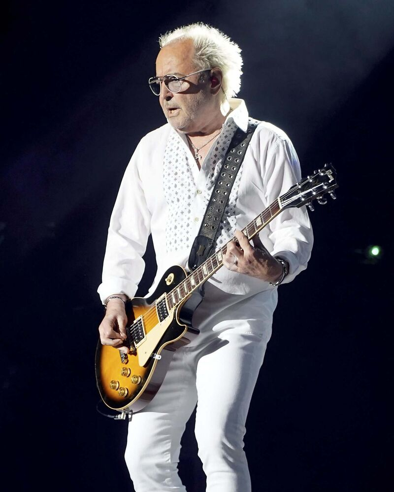 Foreigner founder and lead guitarist Mick Jones