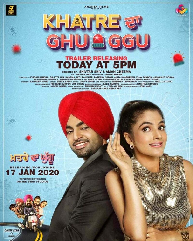 Khatre Da Ghuggu is a Punjabi comedy.