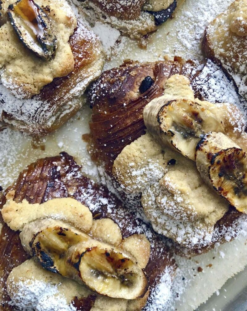 INSTAGRAM</p><p>Vegan chocolate-banana croissant from Gâto Bakeshop, whose owner trained with a Le Cordon Bleu chef in her home country of Mauritius.</p>