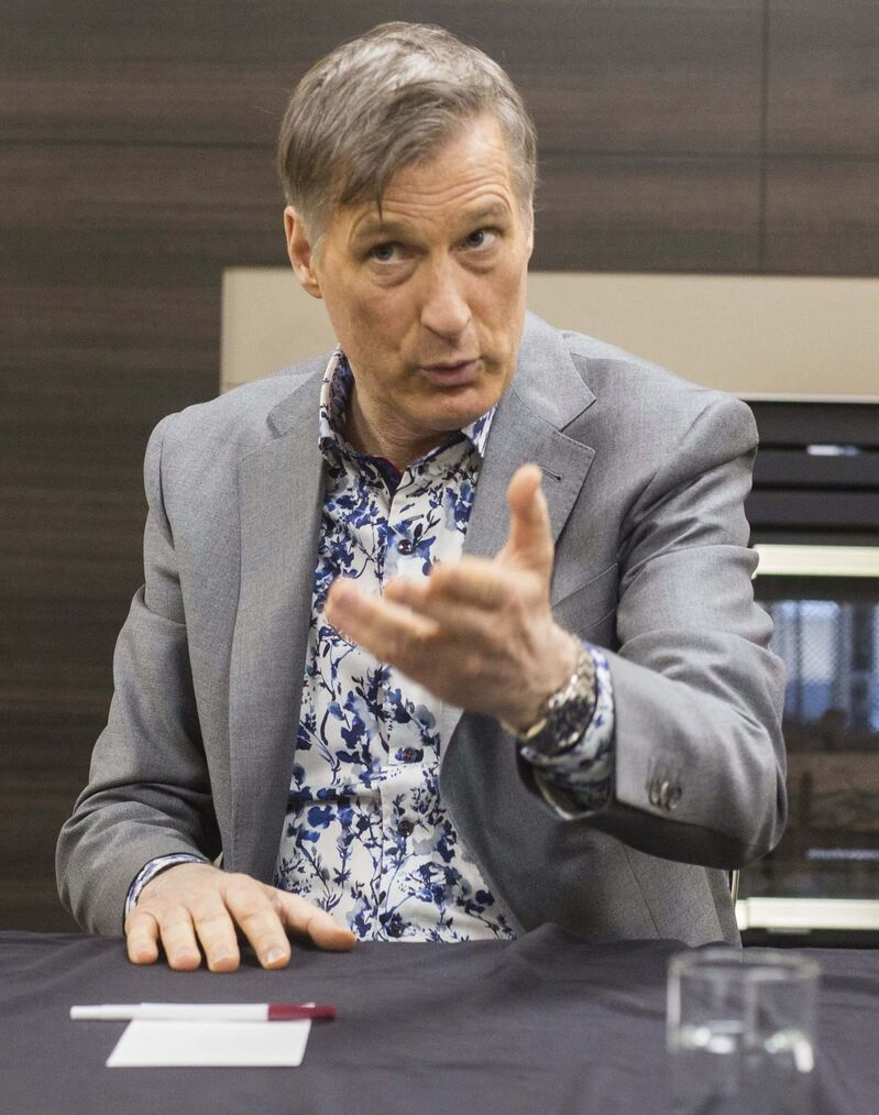 "People's Party of Canada leader Maxime Bernier's assertion that Canada should pull out of the Paris Accord because there is ""no scientific consensus on the theory that CO2 produced by human activity is causing dangerous global warming today or will in the future,"" is ridiculous and patently unscientific. (Chelsea Kemp / The Brandon Sun files)"