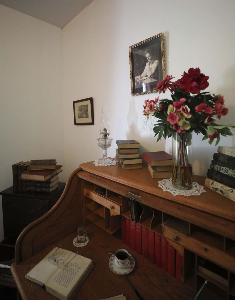 The room where Nellie McClung penned two of her 16 books