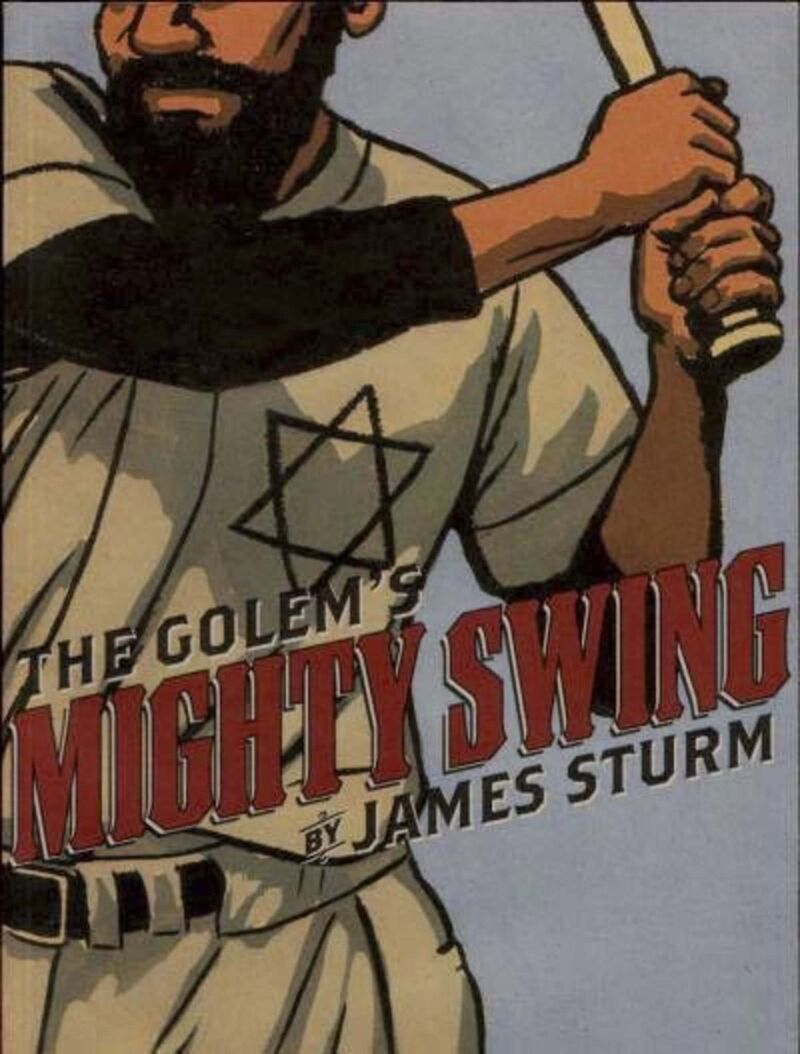 The Golem's Mighty Swing is a 2001 graphic novel.</p>