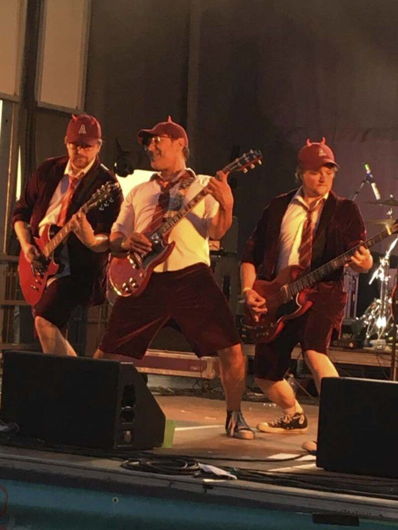 Learning AC/DC's Let There Be Rock was life-changing for Whole Lotta Angus's Darren Keeth. (Facebook)