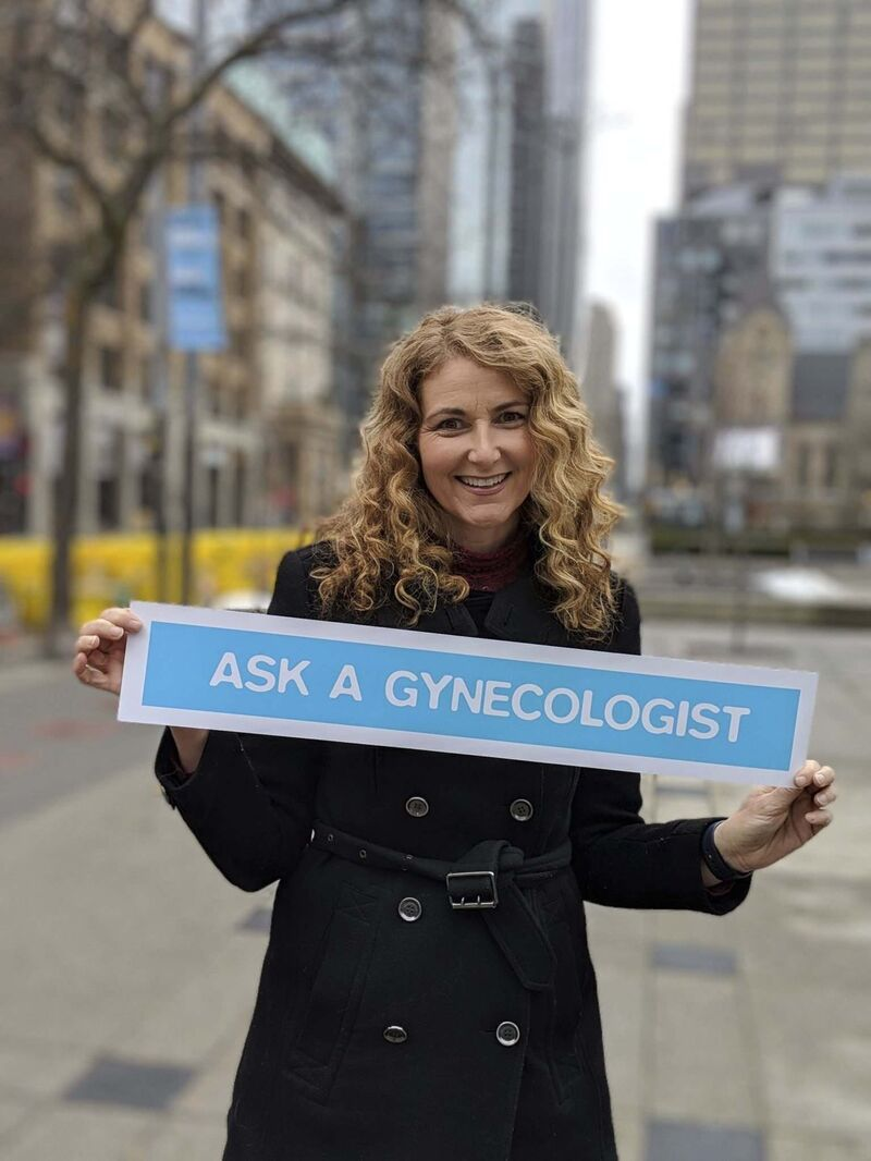 Dr. Jen Gunter wants to empower women to advocate for themselves. (Chloe Jackman photo)