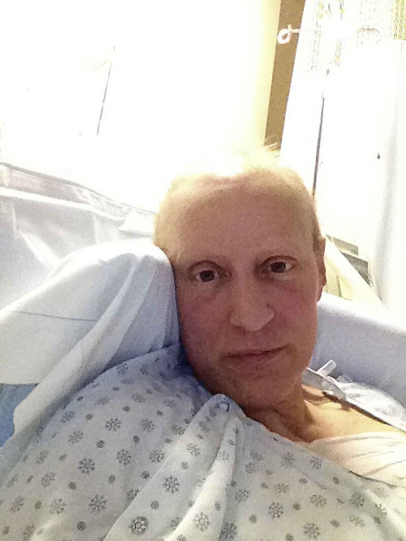 Margaret Koshinsky, pictured after surgery in 2014.