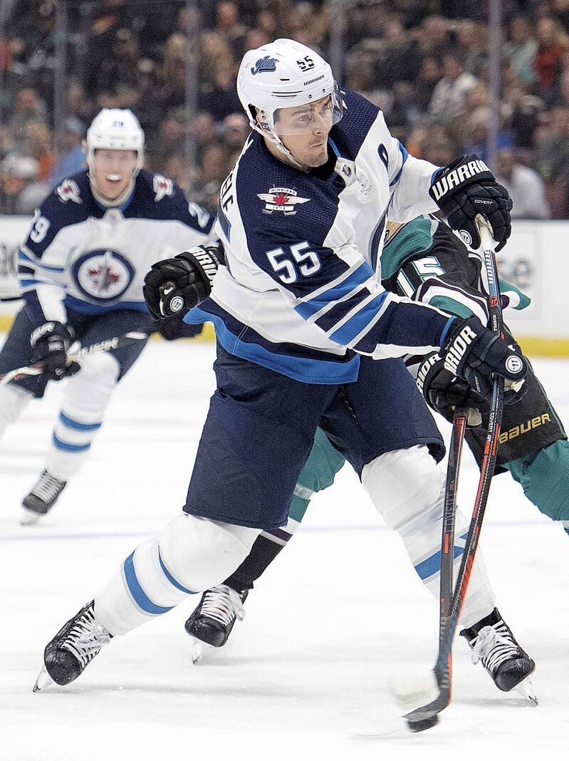 Mark Scheifele has 15 goals and 18 assists in the 27 games since Blake Wheeler was moved off of his line.