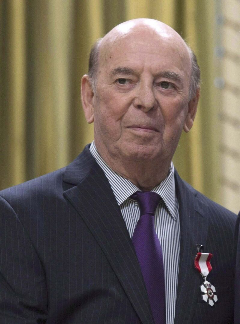 Bob Cole was named a Member of the Order of Canada in 2016. (Adrian Wyld / The Canadian Press files)