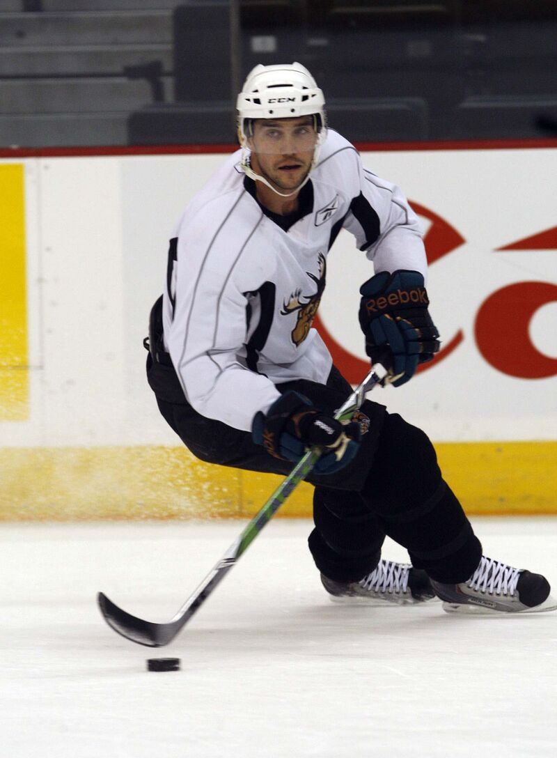 Nolan Baumgartner called Winnipeg his hockey home for the better part of a decade during three separate stints with the AHL's Moose. (Ken Gigliotti / Free Press files)