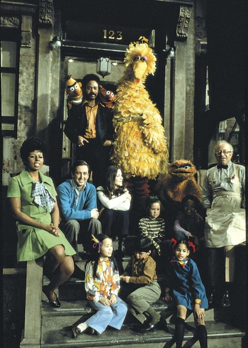 Sesame Street season one cast.