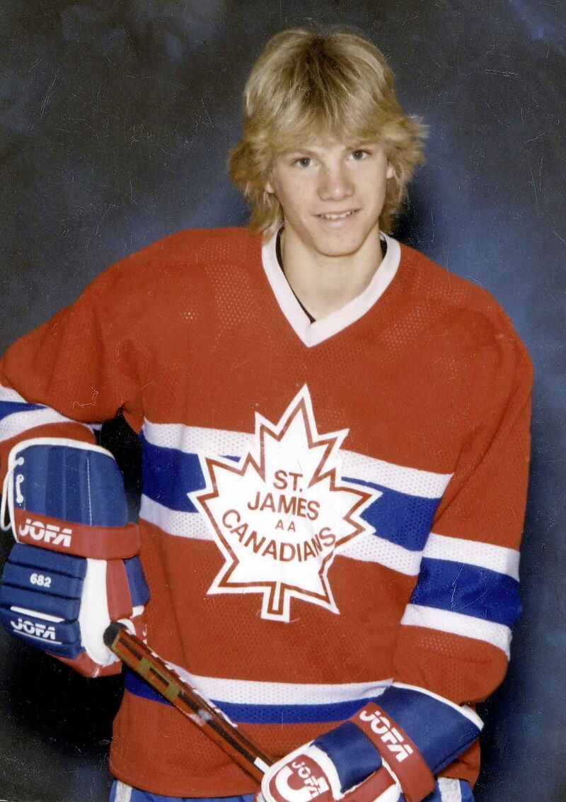 Macaulay grew up playing in the St. James Canadians' system. (Supplied)