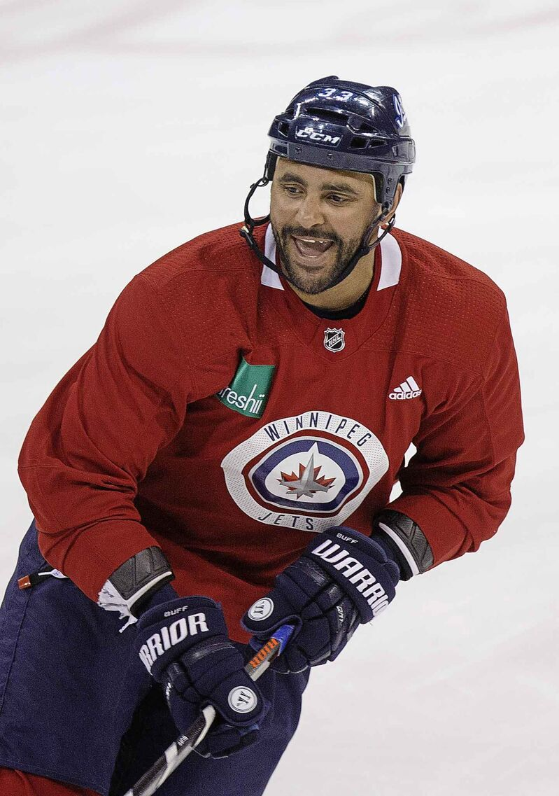 The last chapter of Byfuglien's time with the Jets may have been less than ideal for all parties involved. (Mike Deal / Winnipeg Free Press files)