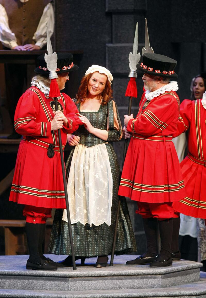 Yeomen of the Guard was the G & S Society's last production. (Phil Hossack / Winnipeg Free Press files)