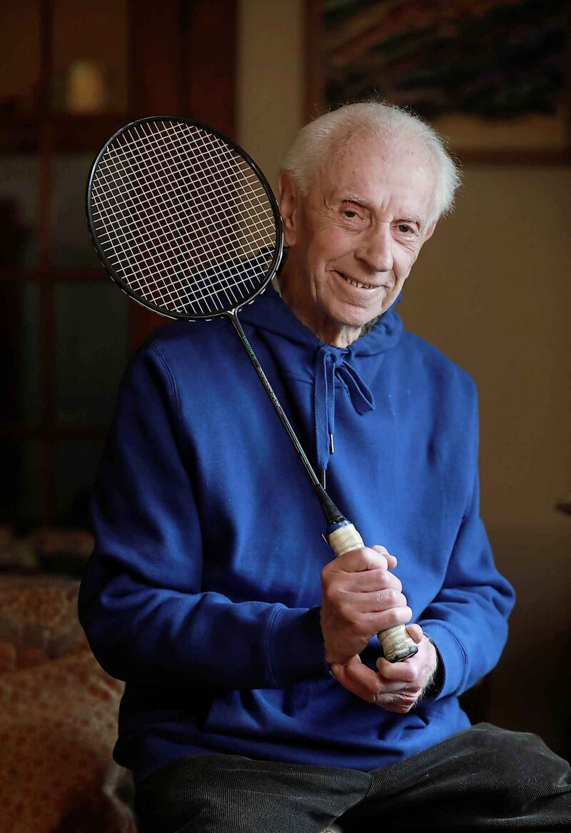 <p>Holocaust survivor, Dr. Stefan Carter is the recipient of the Badminton Manitoba Sport for Life Award.</p>