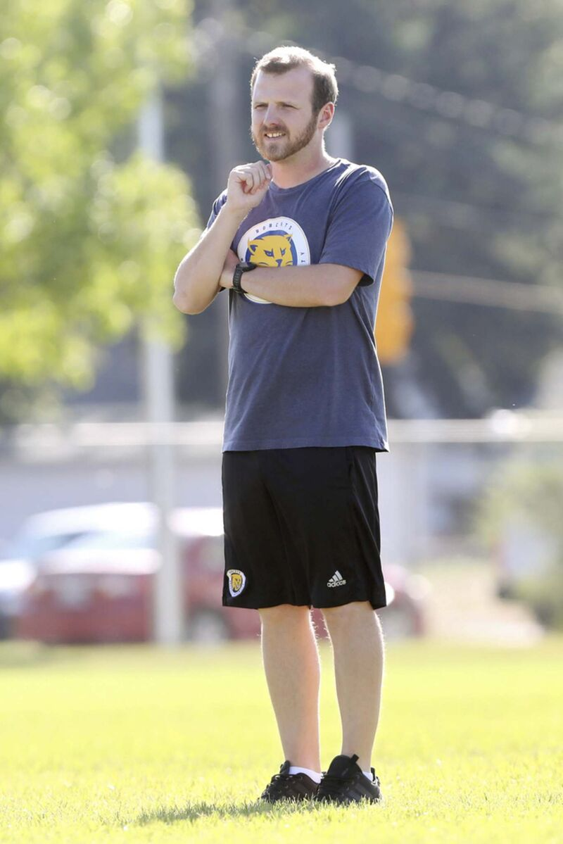 Jesse Roziere remained on the job for months despite a school investigation that concluded he acted inappropriately with student athletes. (Tim Smith / The Brandon Sun files)