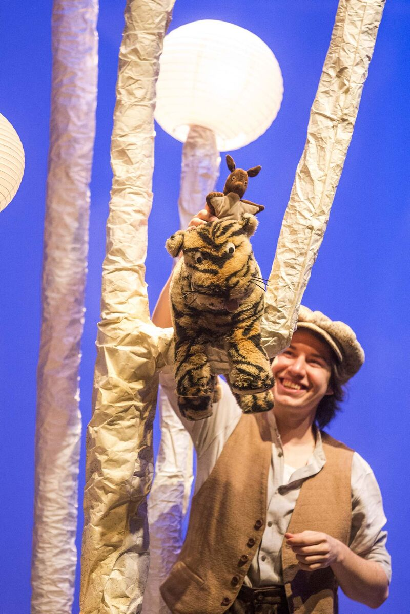 Aaron Pridham is the voice of Tigger.