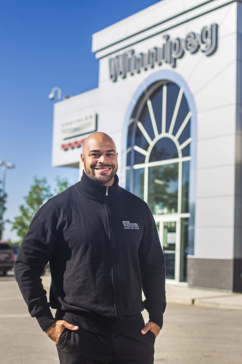 """Vega is making his mark as TV pitchman for dealership.</p> <p>""""></a><figcaption readability="""