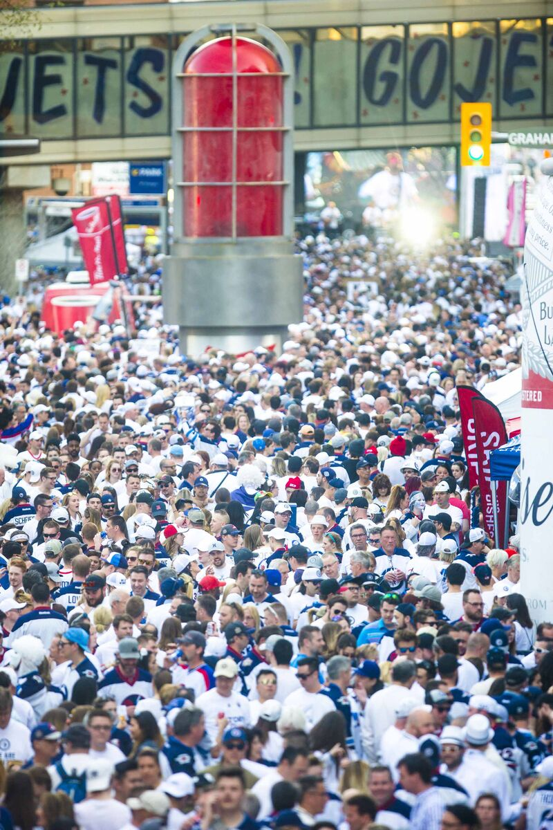 Broadcasting live on Hockey Night in Canada among the thousands of Whiteout-clad Jets fans was one of Scott Oake's all-time favourite moments.
