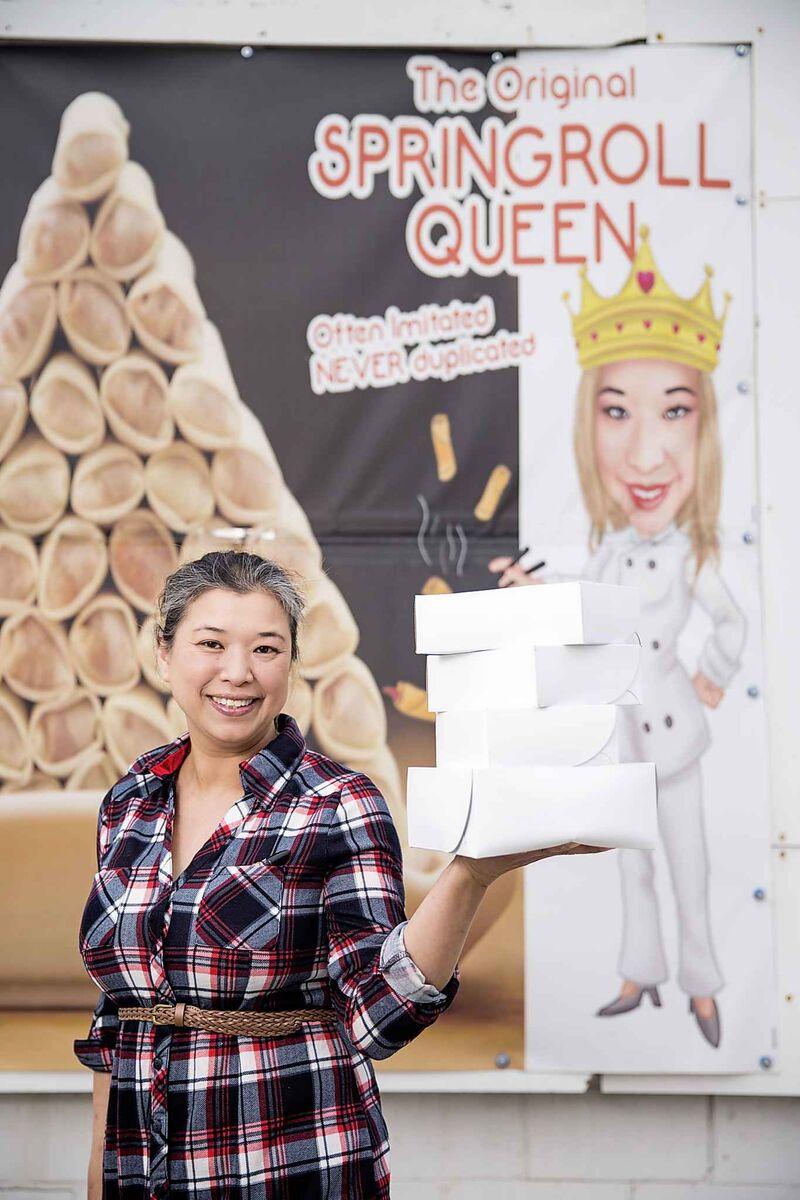 The Springroll Queen has actually been open for more than a year. (Mikaela MacKenzie / Free Press files)