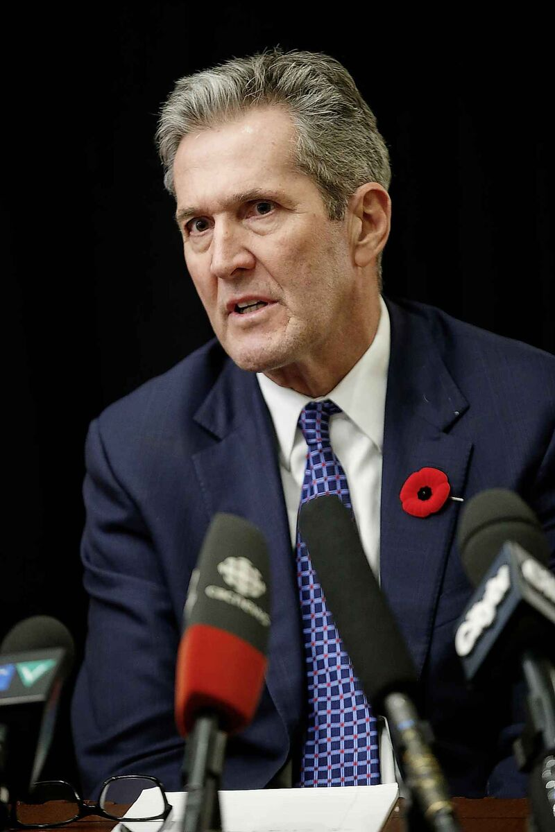 Manitoba premier Brian Pallister badly distorts the historical account of what occurred in the Red River settlement at the time, his article does anything but promote national unity. (John Woods / Winnipeg Free Press)