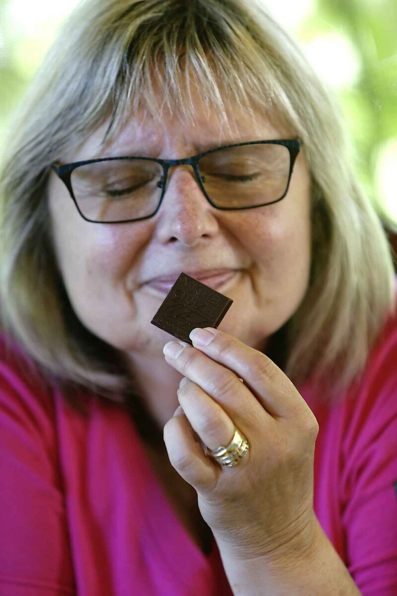 Doreen Pendgracs, the Winnipeg author of Chocolatour, will host an event at McNally Robinson. (Wayne Glowacki / Free Press files)