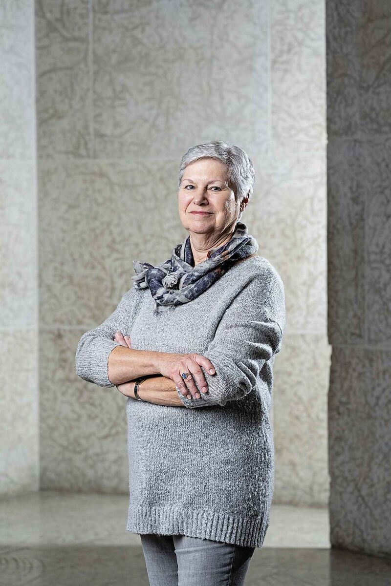Darlene Coward Wight has curated 95 Inuit art exhibitions in her 35 years at the Winnipeg Art Gallery.  (Winnipeg Art Gallery)