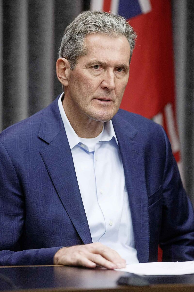Premier Brian Pallister announced that Manitoba's public schools will be closed as a proactive measure to slow the spread of the COVID-19 virus.