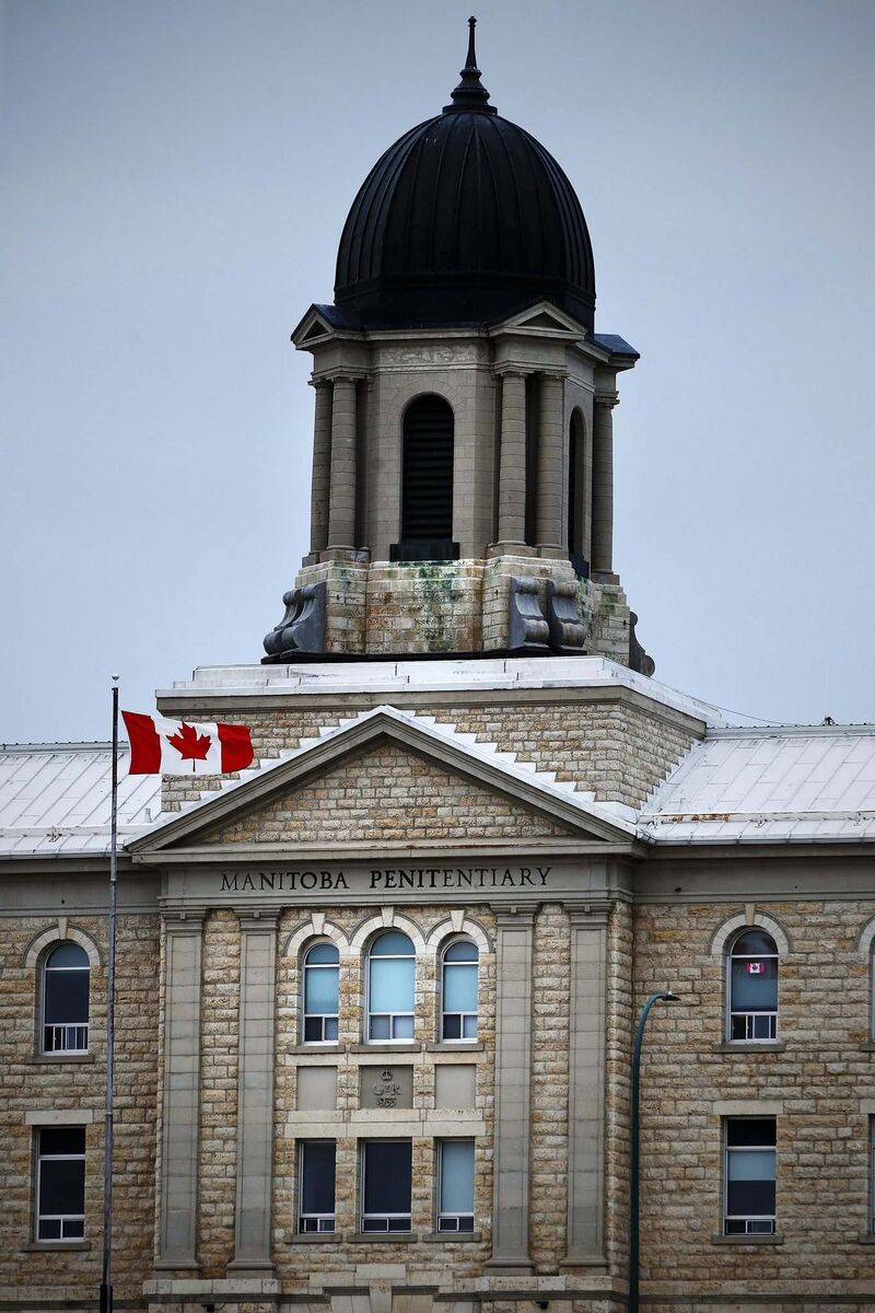 Seven people killed themselves by hanging since January 2019 at Stony Mountain Institution. (John Woods / Winnipeg Free Press files)
