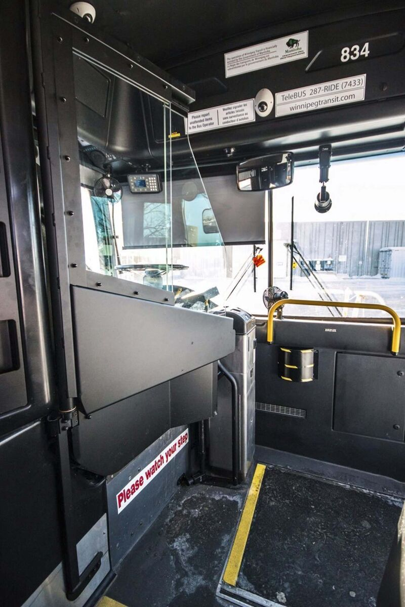 SUPPLIED</p><p>EPC endorsed a plan to install bus shields within a year.</p>
