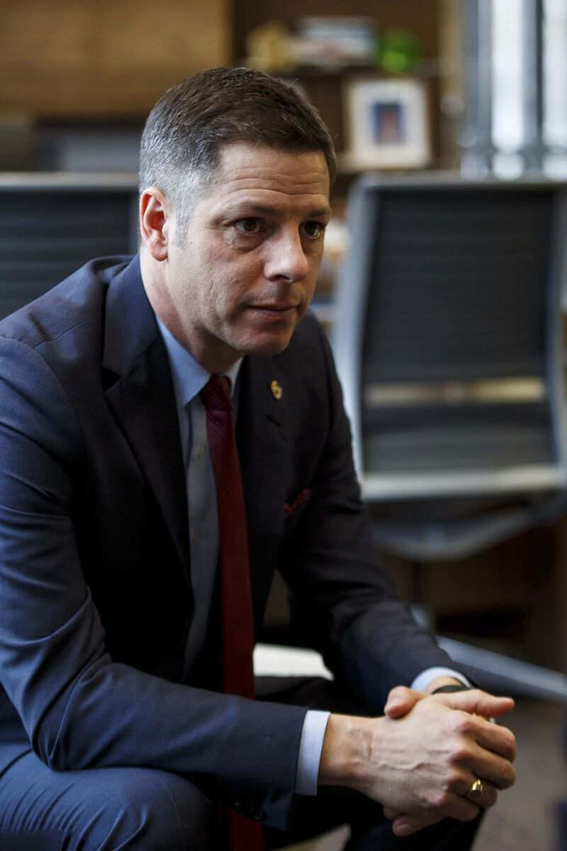 Winnipeg Mayor Brian Bowman knows his Welcoming Winnipeg initiative is likely not a priority for a majority of citizens. (Mike Deal / Winnipeg Free Press files)