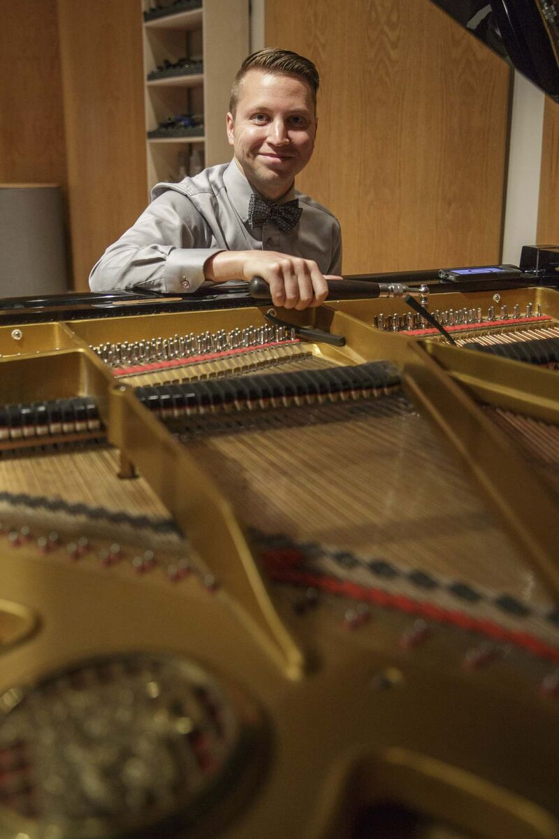 Joe Cote abandoned Rachmaninoff's 18th Variation (Mike Deal / Winnipeg Free Press files)