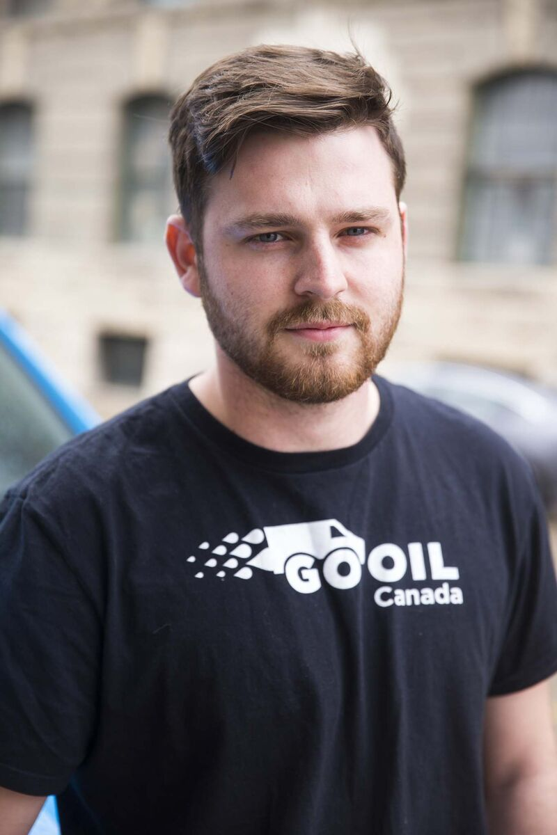 MIKAELA MACKENZIE / WINNIPEG FREE PRESS</p><p>John Sparrow is the founder and CEO of GoOil.</p>